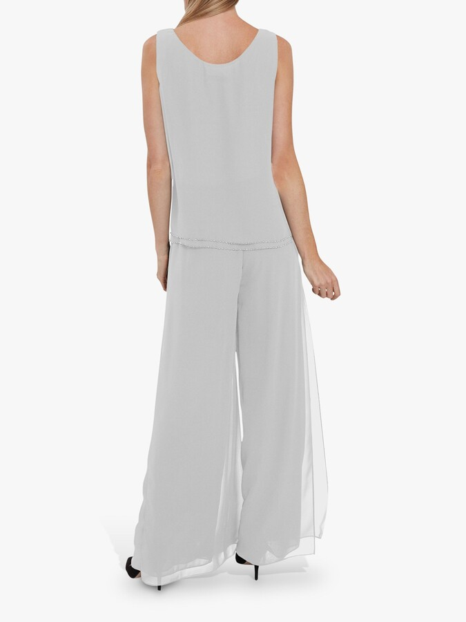 Thumbnail for your product : Gina Bacconi Double Layer Chiffon Cami Top