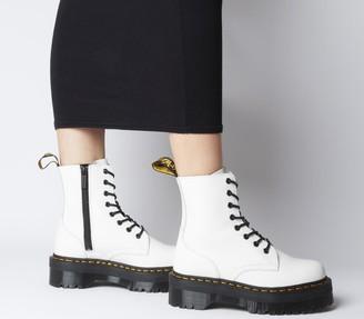 Dr. Martens Jadon 8 Eye Boots White