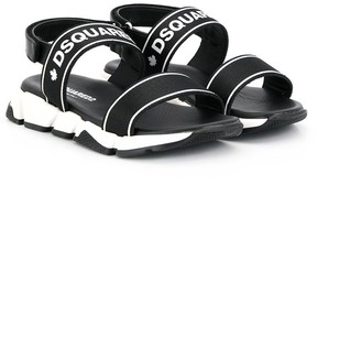 DSQUARED2 logo strap sandals