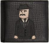 Dolce & Gabbana Black Sicilian Man Wallet