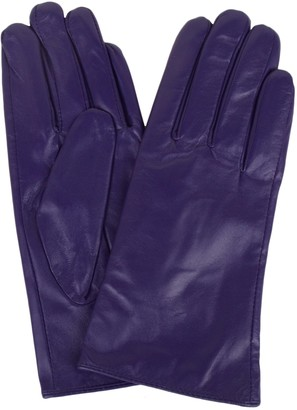 "SNUGRUGS Womens Butter Soft Premium Leather Glove with Warm Fleece Lining - Brown - Small (6.5"")"