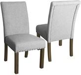 HomePop Michele Dining Chair 2-piece Set