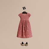 Burberry English Floral Lace Dress