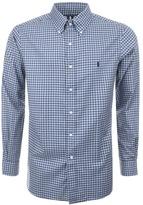 Ralph Lauren Check Shirt Blue