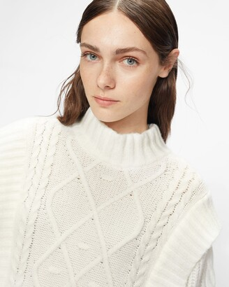 Ted Baker Cable Knit Sweater Dress