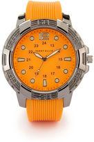 Perry Ellis Orange Band Watch