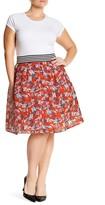 Want & Need Printed Crinoline Skirt (Plus Size)
