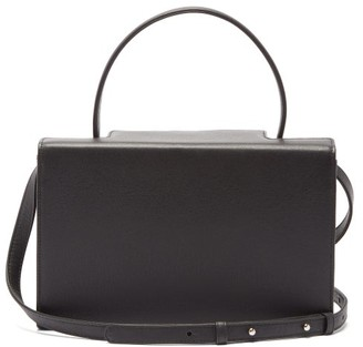 Tsatsas 931 Grained-leather Bag - Black