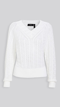 Theory Textured Pullover