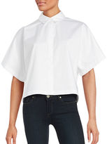 KENDALL + KYLIE Lace Back Blouse