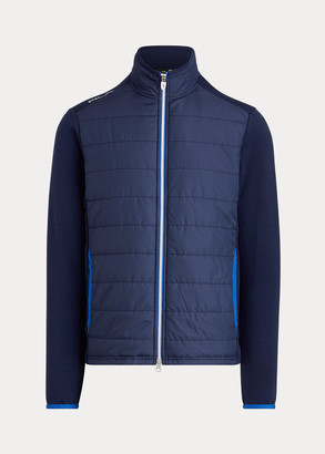 Ralph Lauren Paneled Stretch Terry Jacket