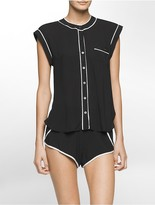Calvin Klein Translucent Top + Shorts Gift Set