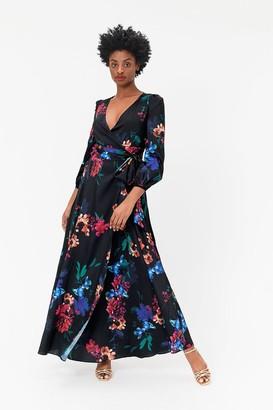 Coast Floral Print Wrap Dress