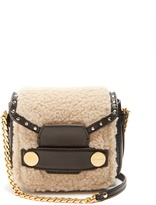 Stella McCartney Stella Popper alter faux-shearling cross-body bag