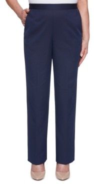 Alfred Dunner Ship Shape Pull-On Pants