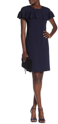 Trina Turk Charleston Ruffled Short Sleeve Dress