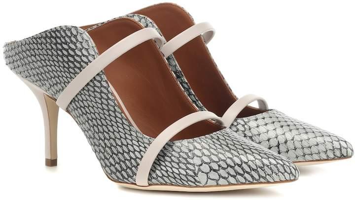 5fc24a307d Malone Souliers Gray Women's Shoes - ShopStyle