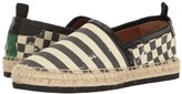 Marc Jacobs Distressed Canvas Espadrille Men's Slip on Shoes