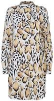 Equipment Freda Leopard Print Dress