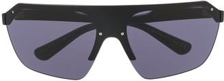 Tom Ford Razor oversized-frame sunglasses