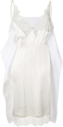 MM6 MAISON MARGIELA Lace-Trim Slip Dress