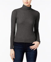 chelsea sky Ribbed Turtleneck, Only at Macy's