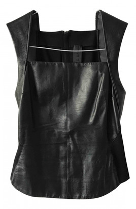 Gareth Pugh Black Leather Tops