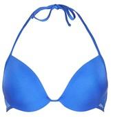 Topshop Wide Mesh Plunge Bikini Top
