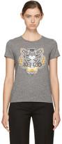 Kenzo - T-shirt gris Tiger