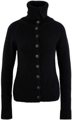 Loewe Roll neck wool cardigan
