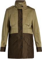 Rag & Bone Kinsley bi-colour cotton jacket