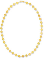 Gurhan Single Short Lush Necklace in 24K Gold, 18""
