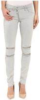 G Star G-Star Lynn Custom Mid Skinny Fit Jeans in Slander Kit Superstretch White Painted