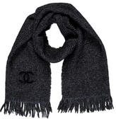 Chanel Knit CC Scarf