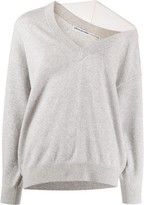 Alexander Wang asymmetric off shoulder jumper