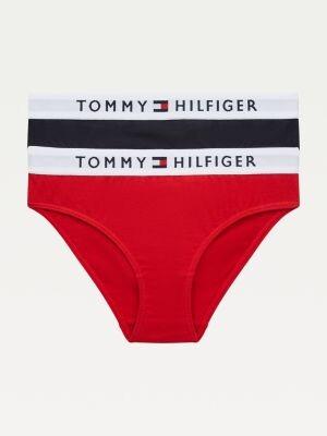 Tommy Hilfiger 2-Pack Organic Cotton Logo Waistband Briefs