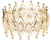 Charlotte Russe Faceted Stone Stretch Bracelet