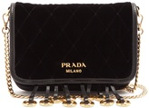 Prada Quilted velvet cross-body bag