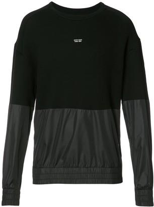 Mostly Heard Rarely Seen Paneled Sweatshirt