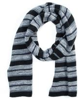Muk Luks Men's Striped Reversible Scarf