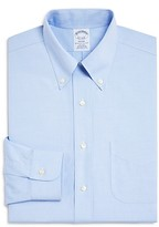 Brooks Brothers Pinpoint Non-Iron Classic Fit Button-Down Dress Shirt
