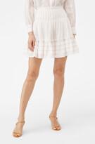 Rebecca Taylor La Vie Blossom Stripe Skirt