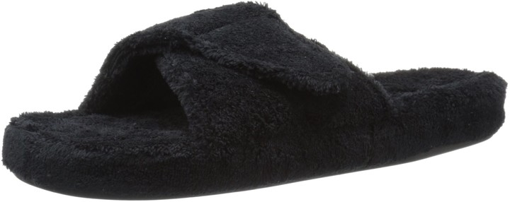 Acorn Women's Spa Ii Slide Slipper Black X-Large / 9.5-10.5