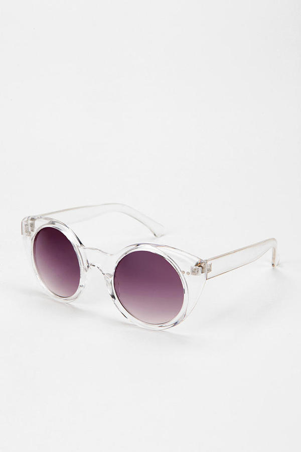 Urban Outfitters Two-In-One Round Sunglasses