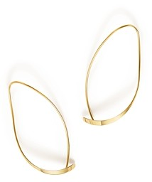 Bloomingdale's 14K Yellow Gold Curved Sweep Earrings - 100% Exclusive