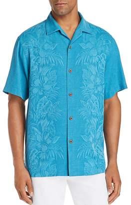 Tommy Bahama Kamari Short-Sleeve Classic Fit Silk Jacquard Camp Shirt