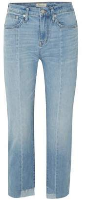 Madewell Faded Mid-rise Straight-leg Jeans