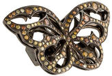 Loree Rodkin Yellow & Brown Diamond Butterfly Ring