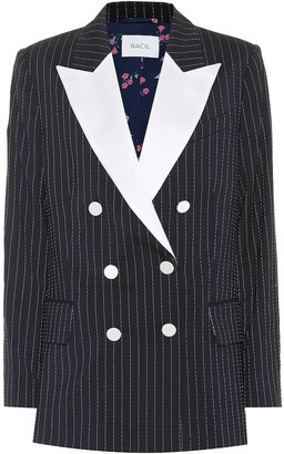 Racil Casablanca wool-blend tuxedo blazer