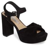 Kristin Cavallari Women's Ryne Twist Toe Platform Sandal